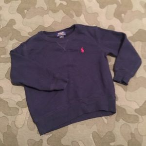 Ralph Lauren Polo toddler boys sweatshirt